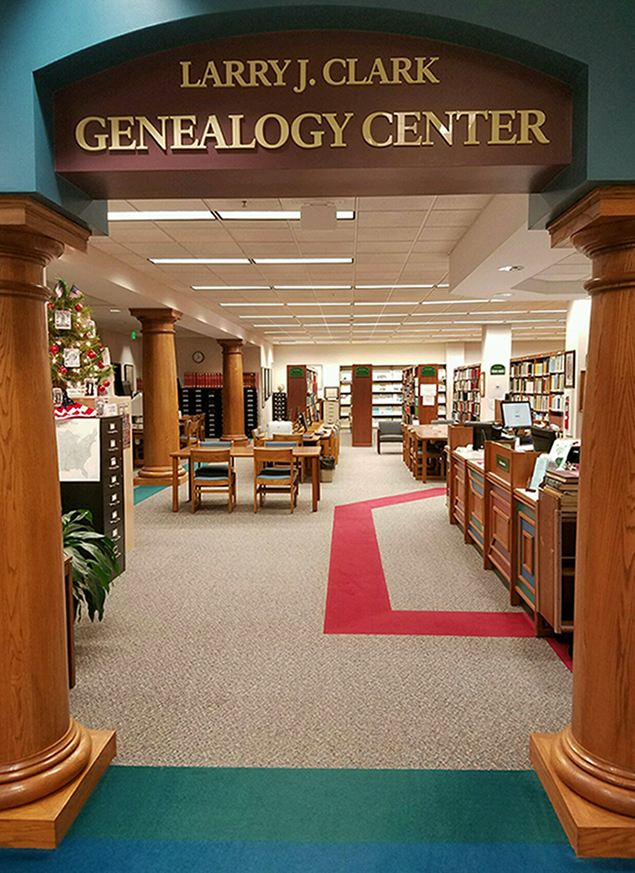 Porter County Public Library System Genealogy Center